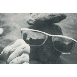 Denkender Stein im Urlaub